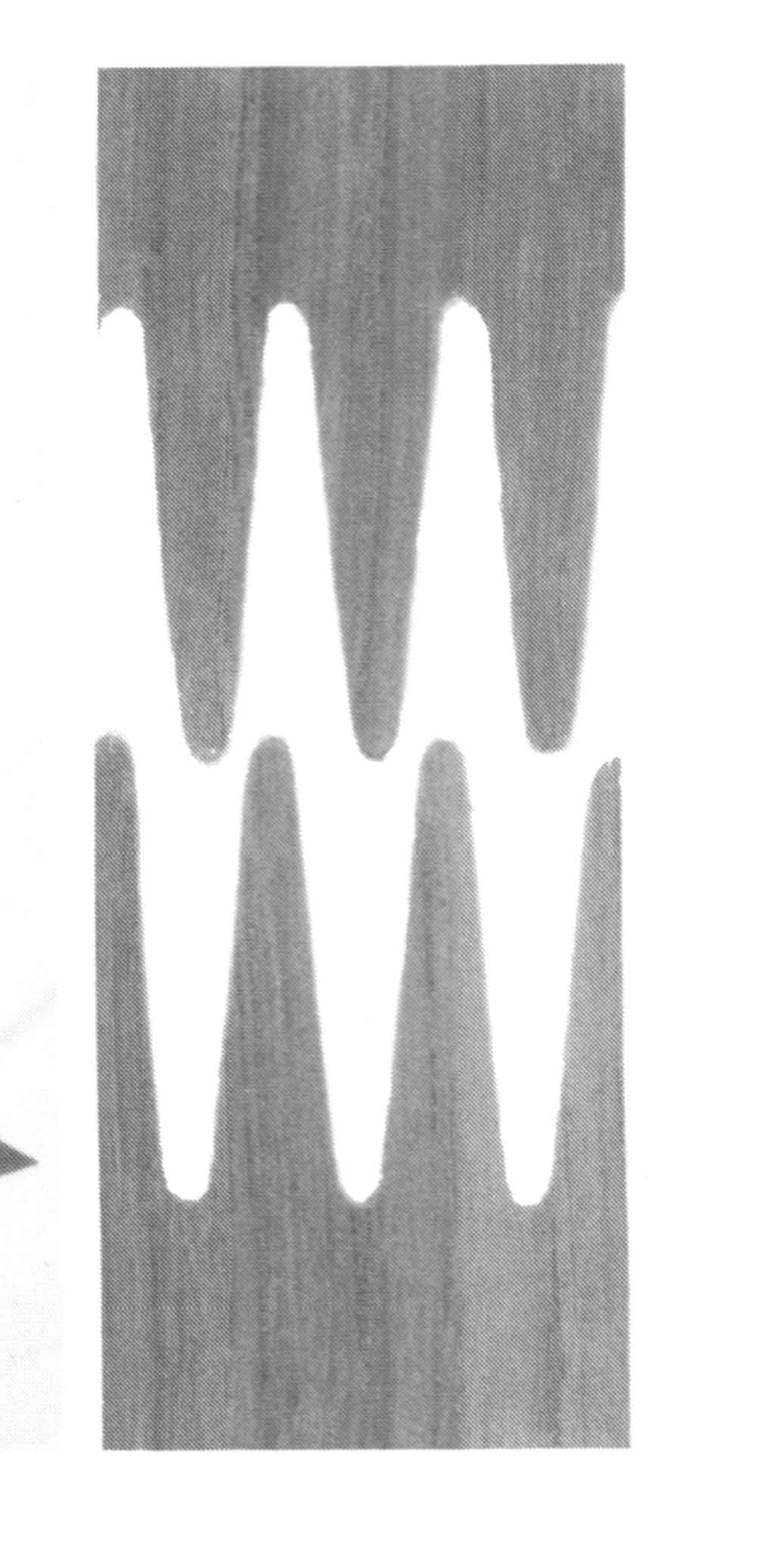 соединение шпона на гребенку